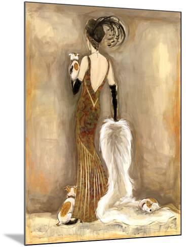 Femme Fatale III-Karen Dupr?-Mounted Art Print
