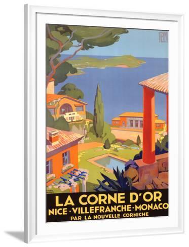 La Corne d'Or--Framed Art Print