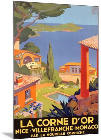 La Corne d'Or--Mounted Giclee Print