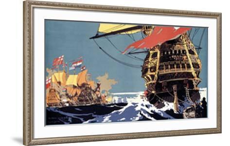 East Anglia by L.N.E.R.-Frank Mason-Framed Art Print