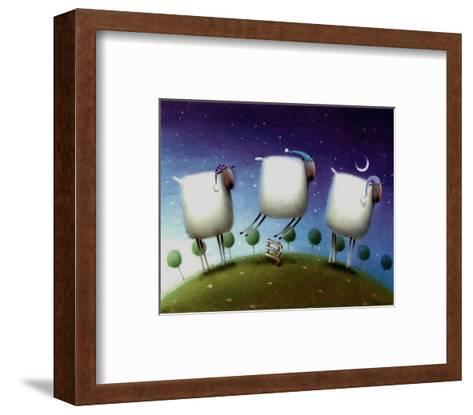 Insomniac Sheep-Rob Scotton-Framed Art Print