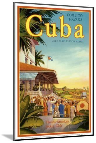 Cuba and American Jockey-Kerne Erickson-Mounted Art Print