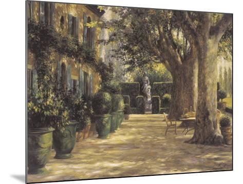 La Signora del Giardino di Tuscana-Greg Singley-Mounted Art Print
