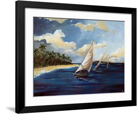 Caribbean Paradise II-Trevor Green-Framed Art Print