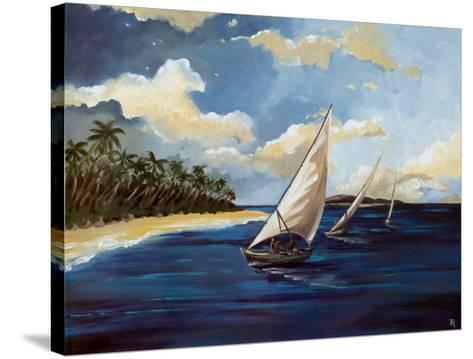 Caribbean Paradise II-Trevor Green-Stretched Canvas Print
