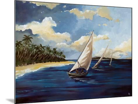 Caribbean Paradise II-Trevor Green-Mounted Art Print