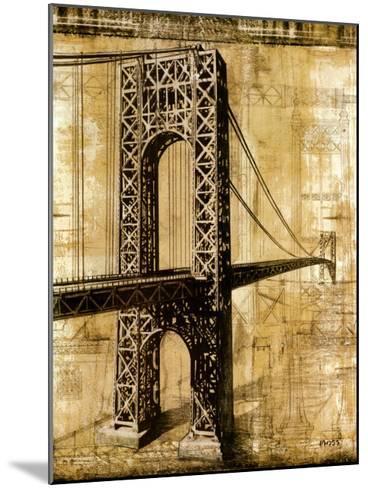 George Washington Bridge-P^ Moss-Mounted Art Print