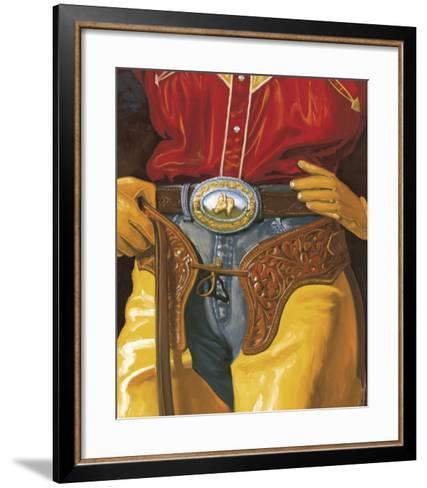 Durango-P^ Moss-Framed Art Print