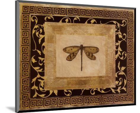 Dragon Fly I-Alan Hayes-Mounted Art Print