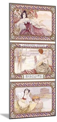 Lefevre-Utile Biscuits-Alphonse Mucha-Mounted Giclee Print
