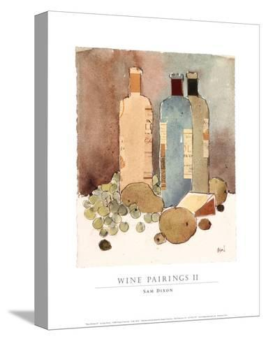 Wine Pairings II-Sam Dixon-Stretched Canvas Print