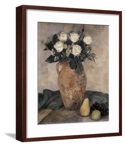 Rose Still Life-Laurie Eastwood-Framed Art Print