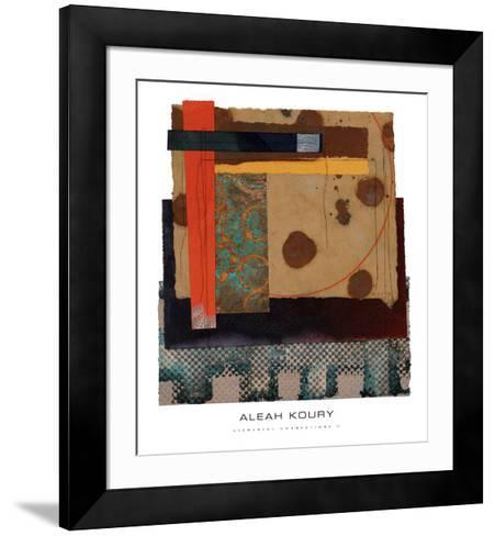 Elemental Connections II-Aleah Koury-Framed Art Print