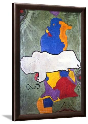Untitled, 1990-Jasper Johns-Framed Art Print