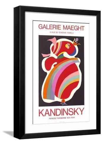 La Forme Rouge, 1938-Wassily Kandinsky-Framed Art Print