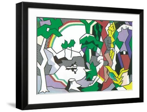 Landscape with Figures, 1980-Roy Lichtenstein-Framed Art Print