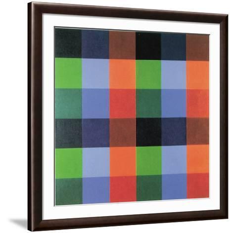 9 x 4 Farborte-Richard P^ Lohse-Framed Art Print