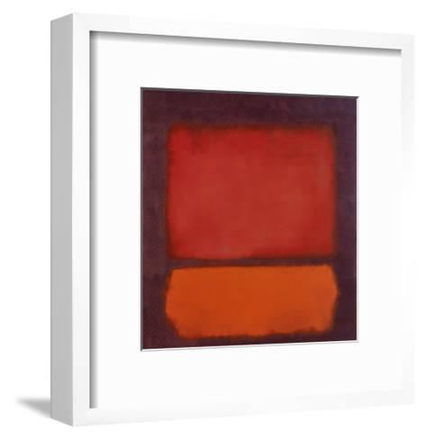 Untitled-Mark Rothko-Framed Art Print