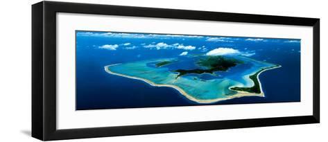 Bora Bora, Leeward Islands--Framed Art Print