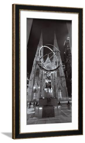 Saint Patrick's Cathedral, New York City-Henri Silberman-Framed Art Print