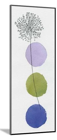 Circles and Dandelion-Nicola Gregory-Mounted Art Print