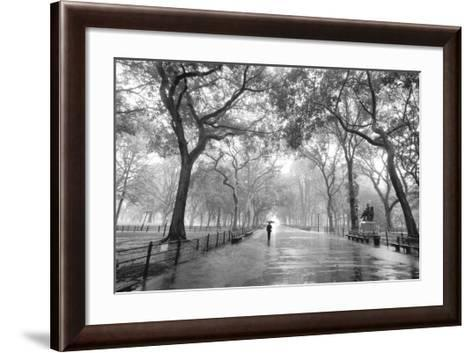Poet's Walk, Central Park, New York City-Henri Silberman-Framed Art Print