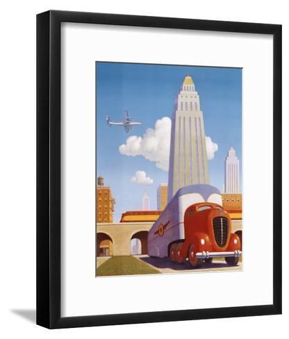 Rush Hour-Robert LaDuke-Framed Art Print