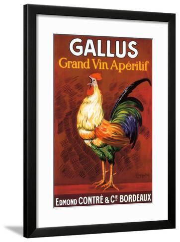 Gallus, Grand Vin Apertif--Framed Art Print