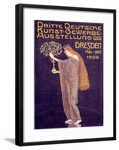 Applied Arts Exhibition, Dresden-Otto Gussmann-Framed Art Print