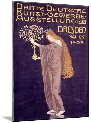Applied Arts Exhibition, Dresden-Otto Gussmann-Mounted Giclee Print