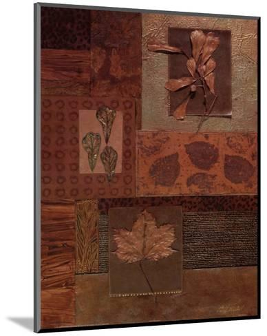 Leaf Collage II-Merri Pattinian-Mounted Art Print