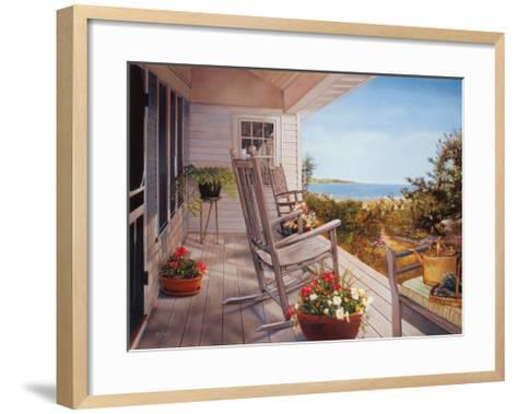 Shelter Island I-Bob DeSantis-Framed Art Print