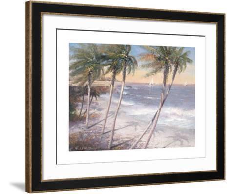 White Sand Beaches-Paul Mathenia-Framed Art Print
