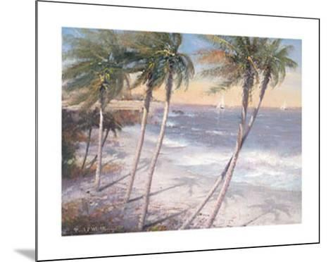 White Sand Beaches-Paul Mathenia-Mounted Art Print