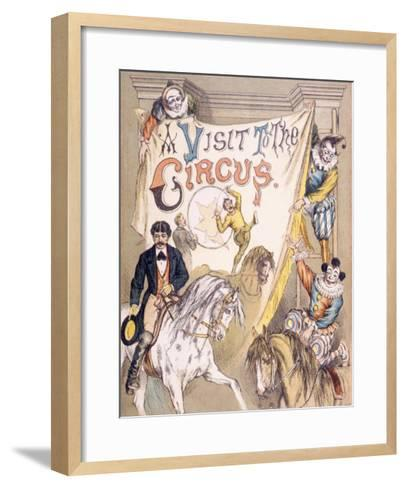 A Visit to the Circus--Framed Art Print