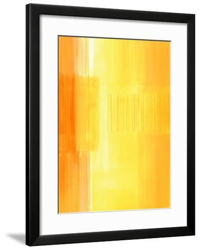 Untitled, c.2003 (Yellow)-Susanne St?hli-Framed Art Print