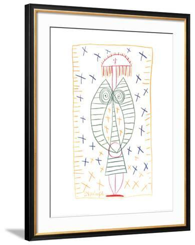 Woman Standing, c.1946-Pablo Picasso-Framed Art Print