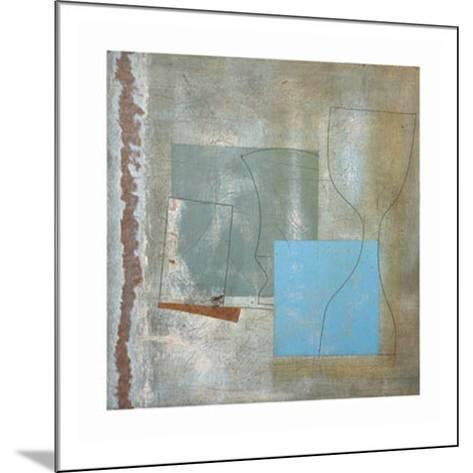 Green Goblet and Blue Square, c.1961-Ben Nicholson-Mounted Art Print