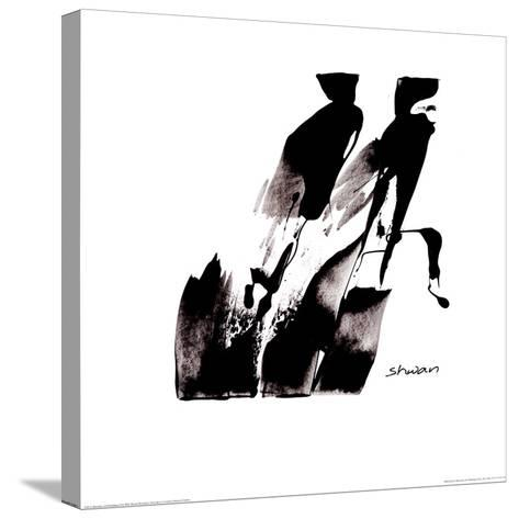 Arrivederci I-Dilorenzo-Stretched Canvas Print