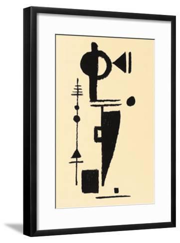 Formspiel, c.1948-Max Ackermann-Framed Art Print