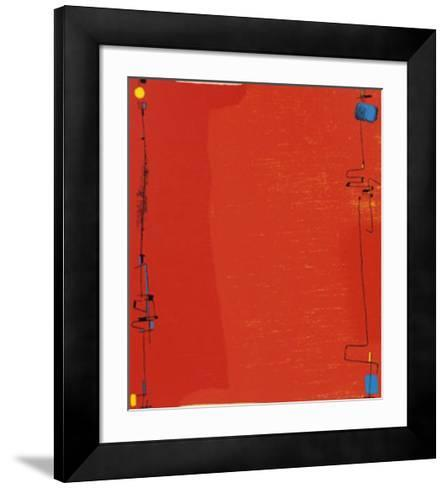 Diptychon Rot, c.1963-Max Ackermann-Framed Art Print