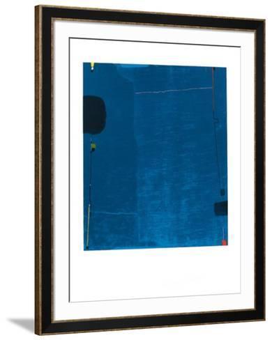 Diptychon Blau, c.1963-Max Ackermann-Framed Art Print