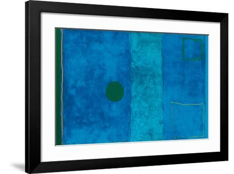 Blue Painting-Patrick Heron-Framed Art Print
