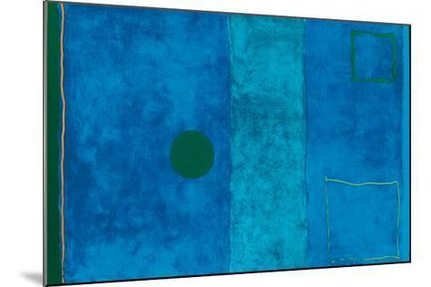 Blue Painting-Patrick Heron-Mounted Serigraph
