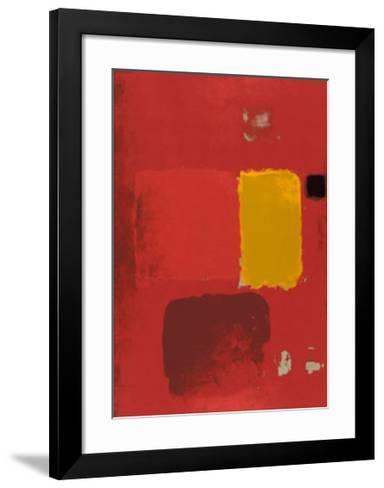 Cadmium Painting-Patrick Heron-Framed Art Print