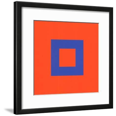 Kunst der Farbe-Johannes Itten-Framed Art Print