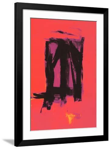 Red Painting, c.1961-Franz Kline-Framed Art Print