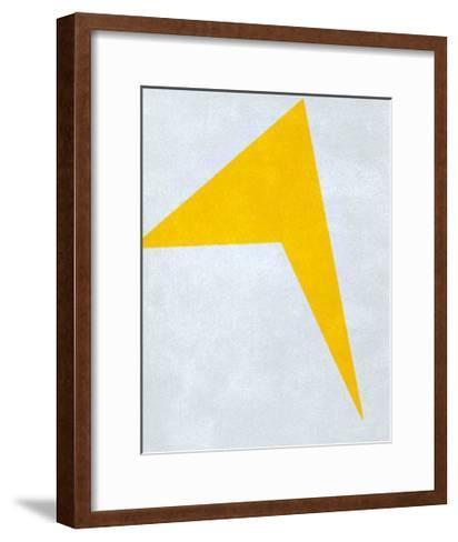 Untitled, 1917 (Yellow)-Ivan Kljun-Framed Art Print