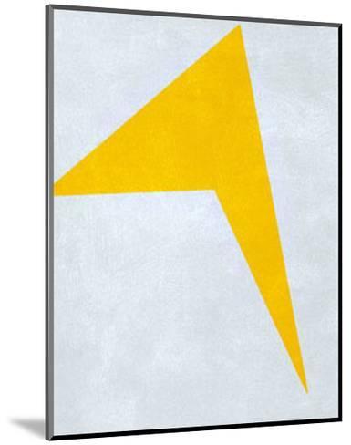 Untitled, 1917 (Yellow)-Ivan Kljun-Mounted Serigraph
