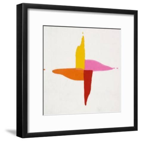 Corn Sweet, c.1961-Kenneth Noland-Framed Art Print